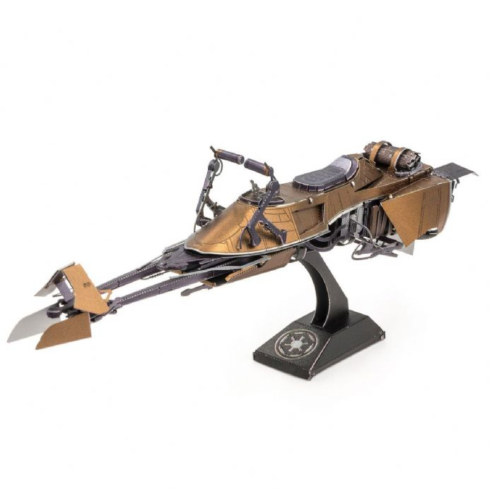 Star Wars Metal Earth Model Kit - Speeder Bike | Buy now at The G33Kery - UK Stock - Fast Delivery